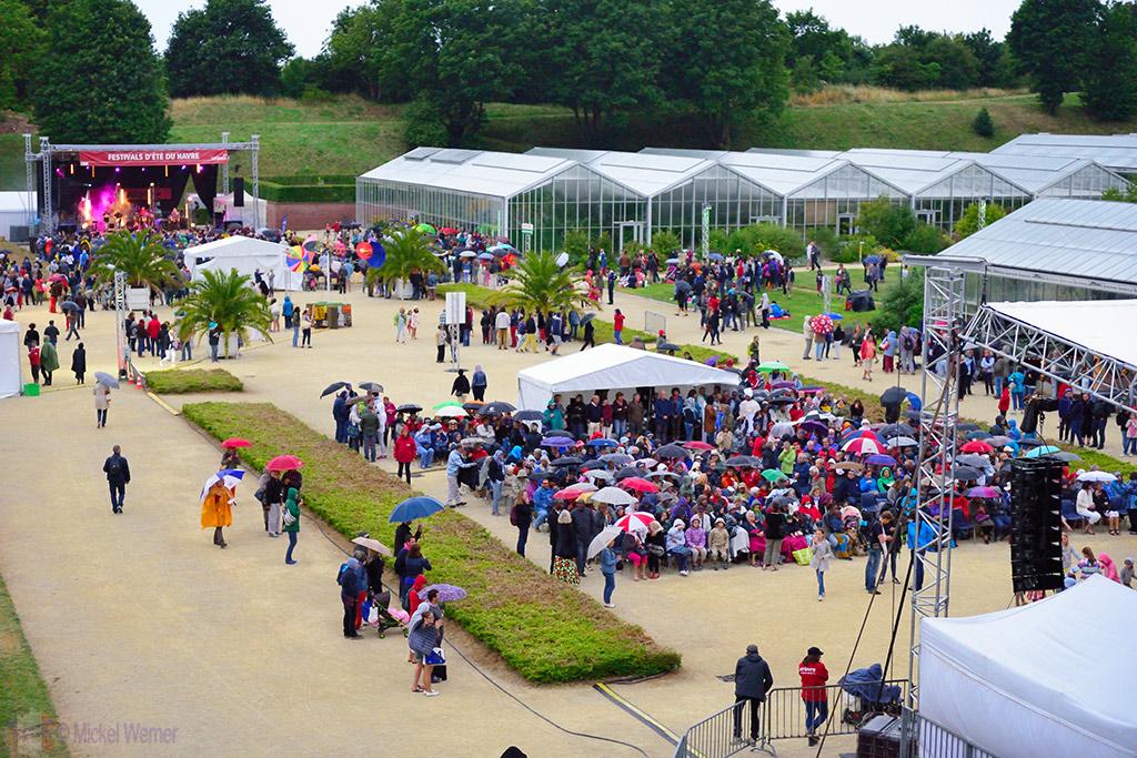 Concerts at the jardins suspendu of le havre for Entretien jardin le havre