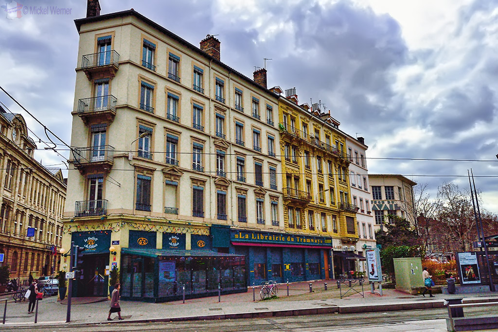 Classical building in Lyon