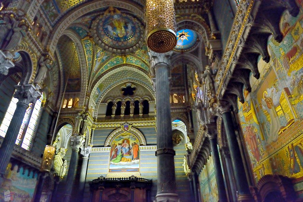 Lyon The Beautiful Basilica Church Travel Information