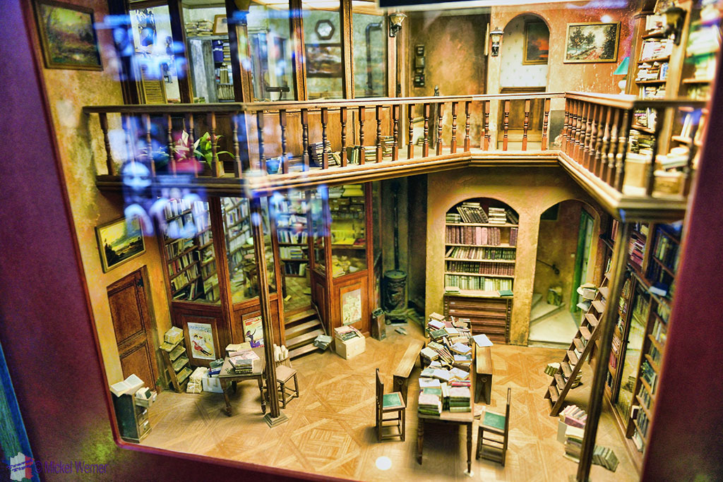 Miniature sets at the Miniatures and Cinema museum of Lyon
