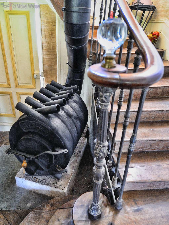 Thiergeville castle chateau de fiquainville travel for Heating system tips