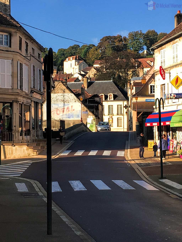 Bridge over the Brenne river in Montbard, Burgundy