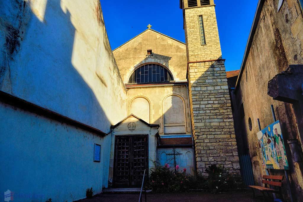 Saint-Paul church in Montbard
