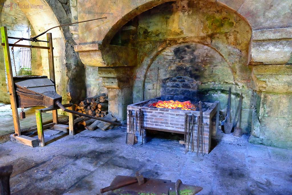Forge of the Fontenay Abbey in Montbard, Burgundy