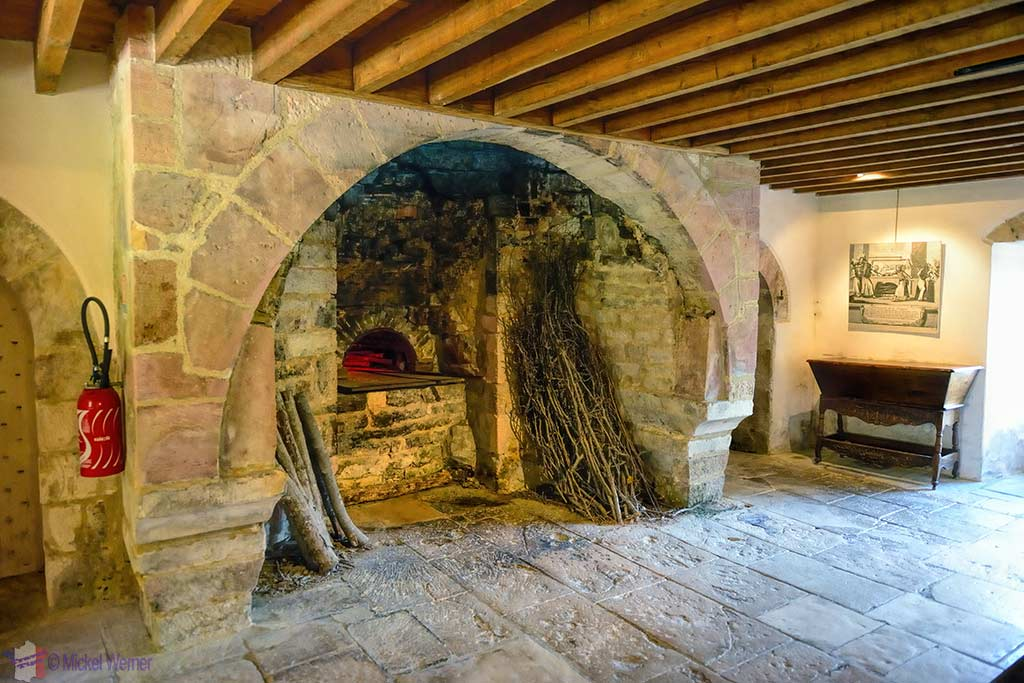 Bread oven of the Fontenay Abbey in Montbard, Burgundy