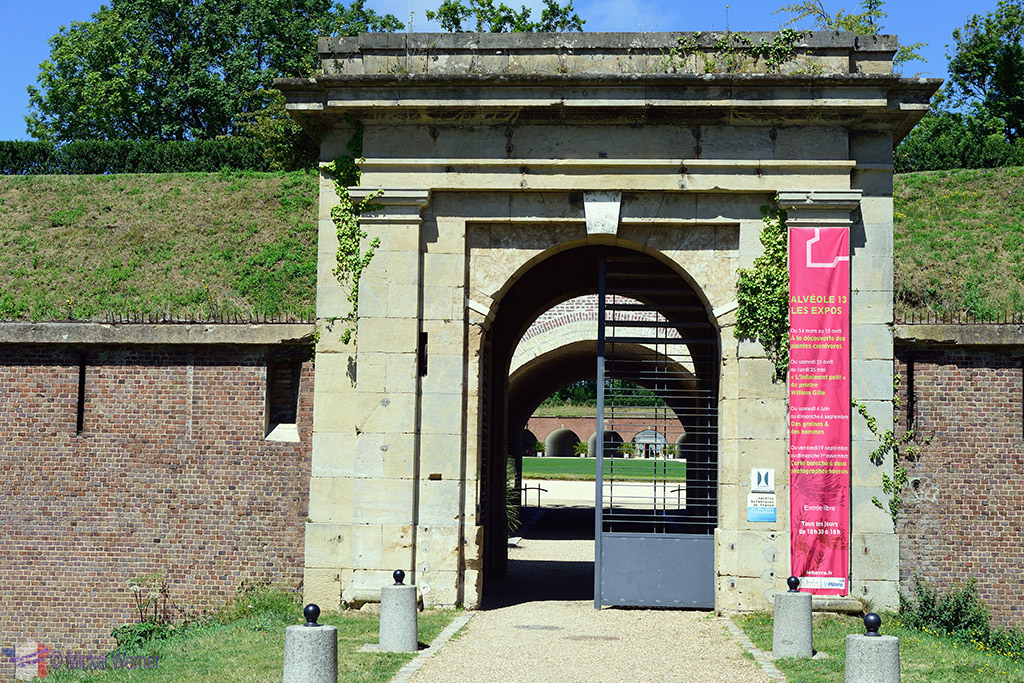 Jardin Suspendu's Fort Entrance at Le Havre