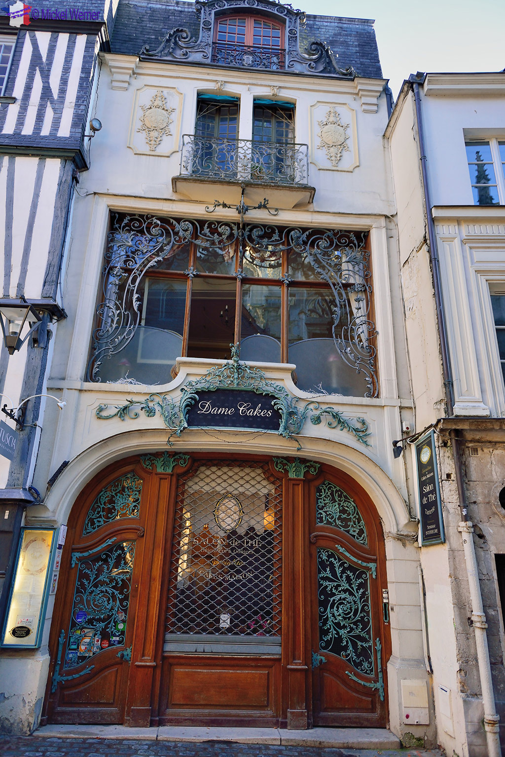 Rouen Restaurants Dame Cakes Travel Information And