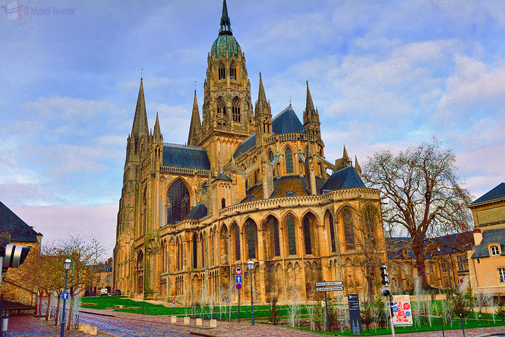 Bayeux The Notre Dame Cathedral Travel Information And