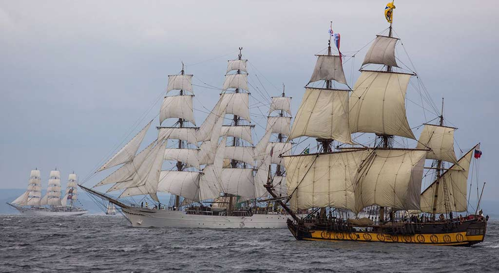 Le Havre End Destination Of The Tall Ships Race 2017