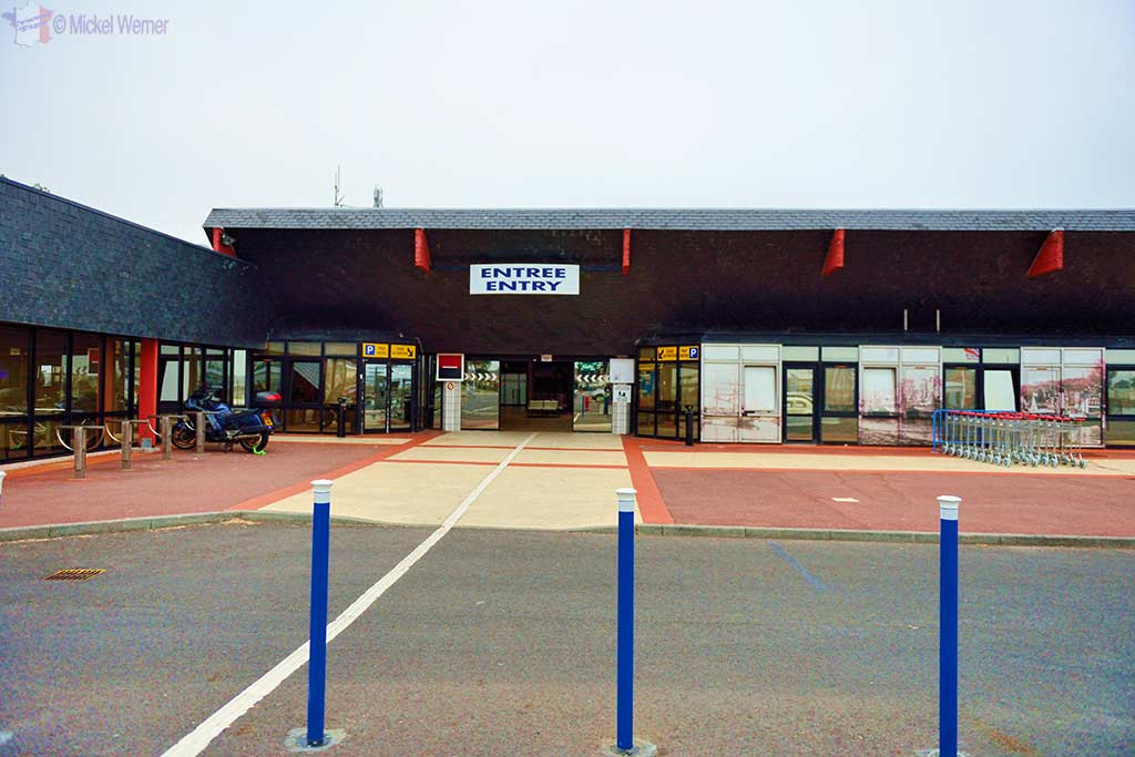 Ouistreham ferry terminal building