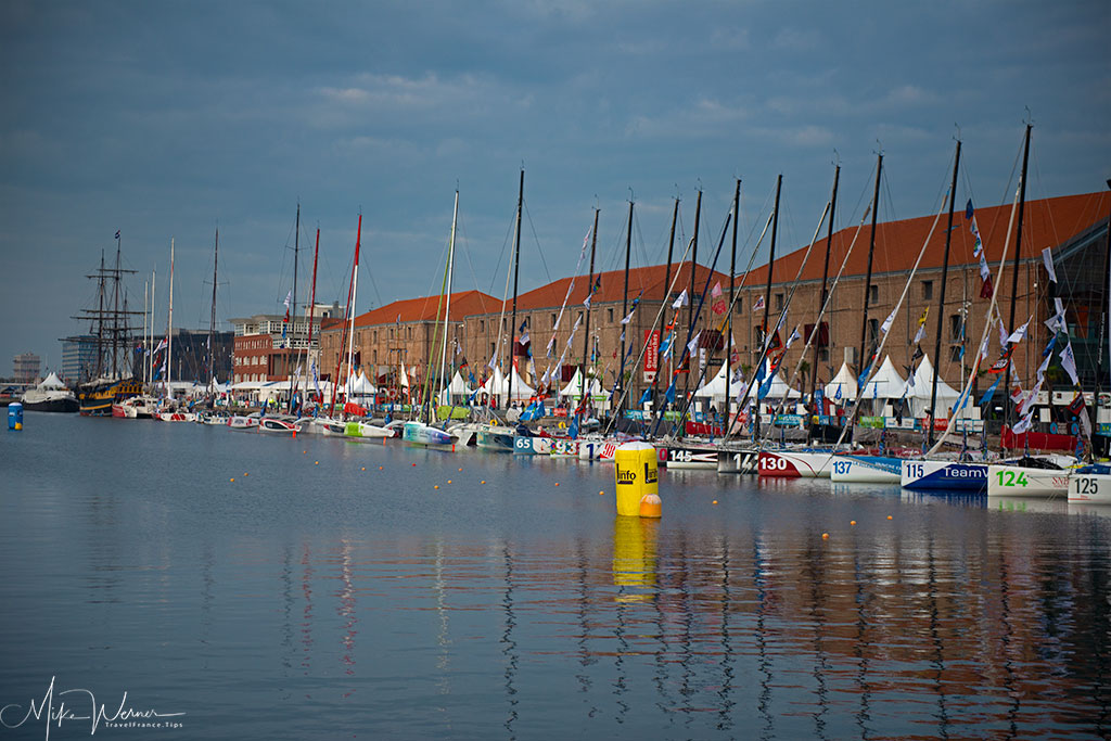 Today - Sailboats and Flags are still seen regularly