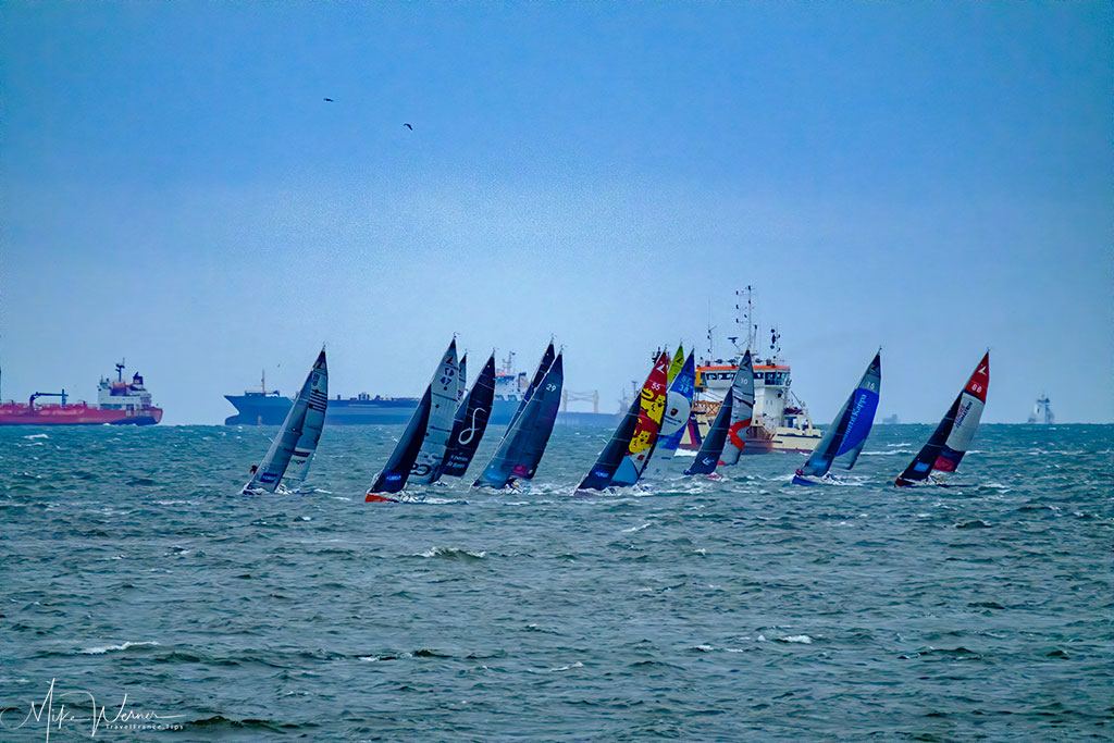 Today - Still many regatta sailboat races held yearly, including the famous Jacques Fabre Transat race