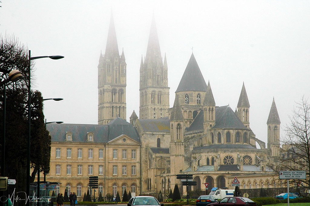 Today - the Abbaye-aux-Dames is part of the prefecture