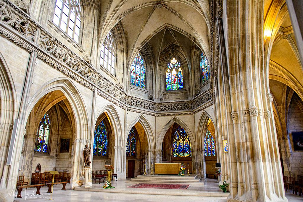 Today - Inside the Saint-Jean church