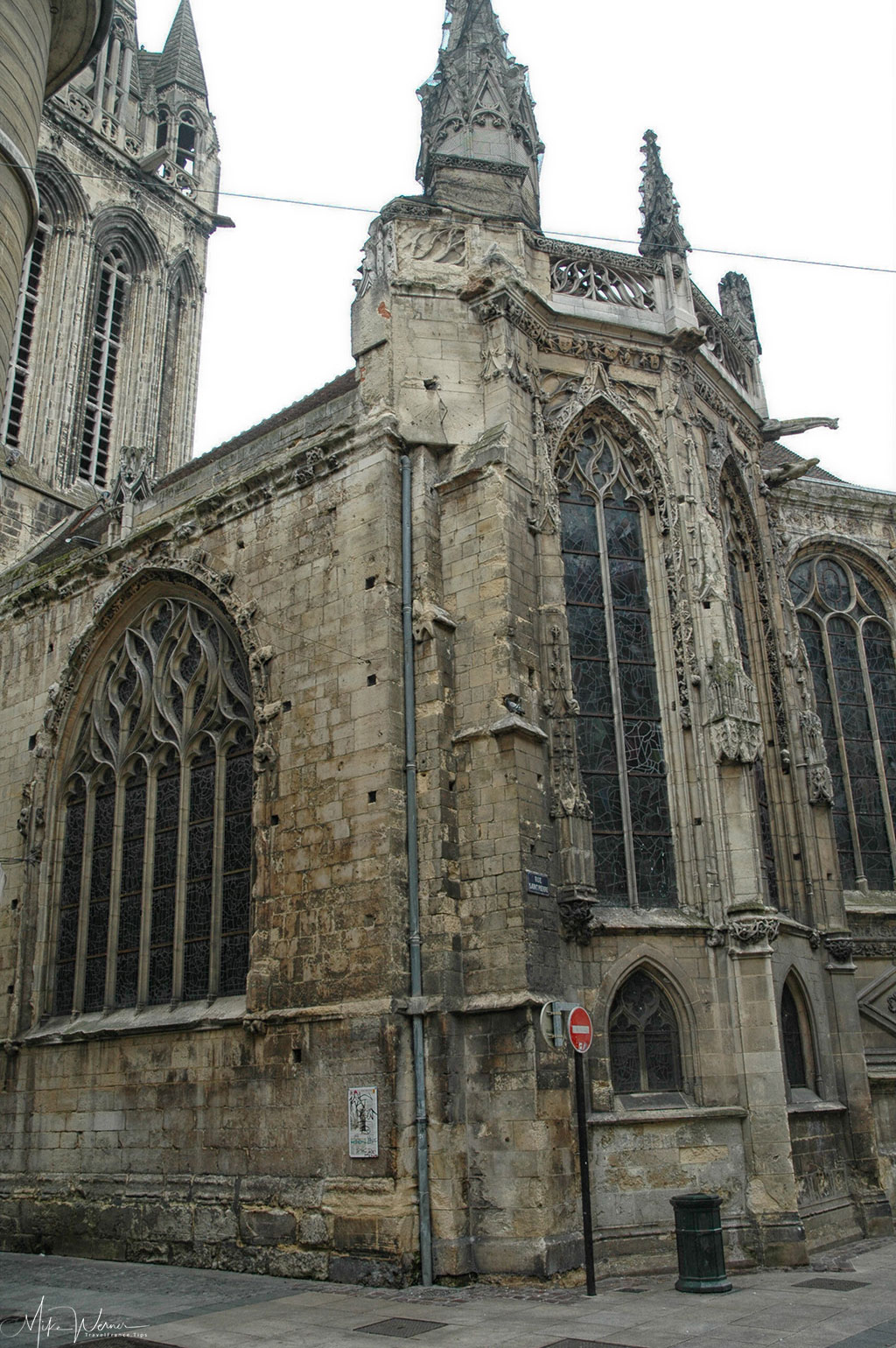 Today - The Saint-Sauveur church in Caen