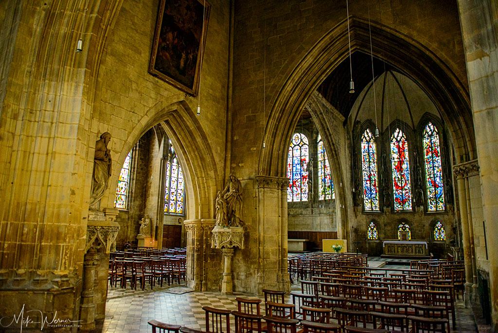 Today: Inside the Saint-Saveur church of Caen