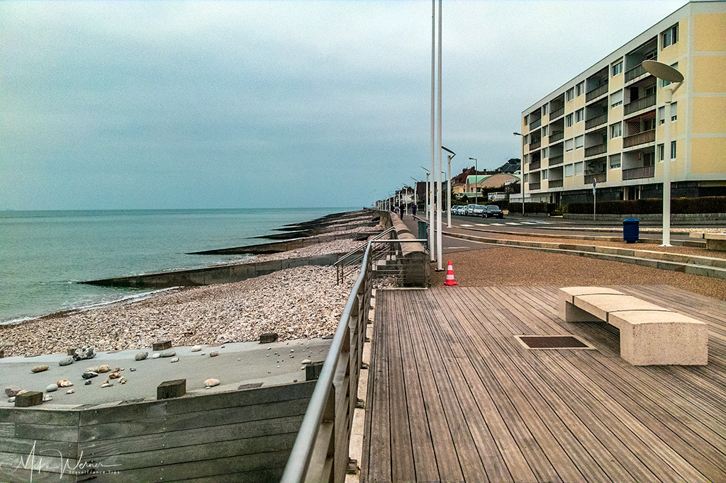 Today - The promenade from Le Havre to Sainte-Adresse