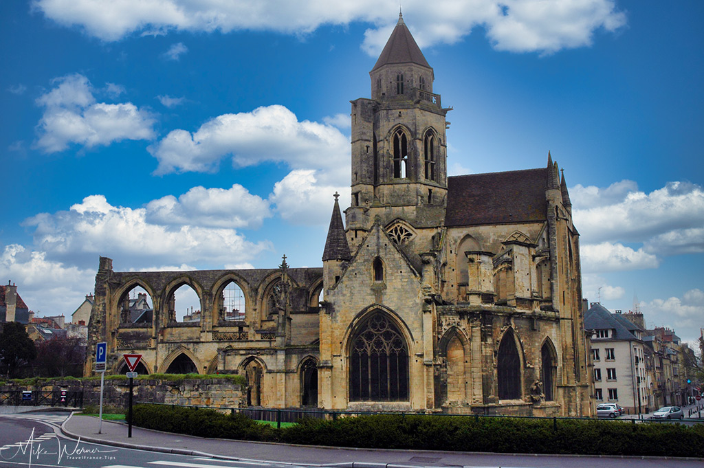 TODAY - The Old Saint-Etienne church in Caen