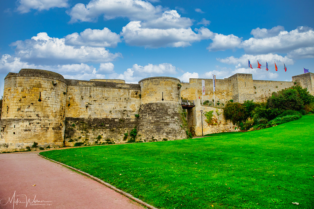The Castle/Fortress of Caen