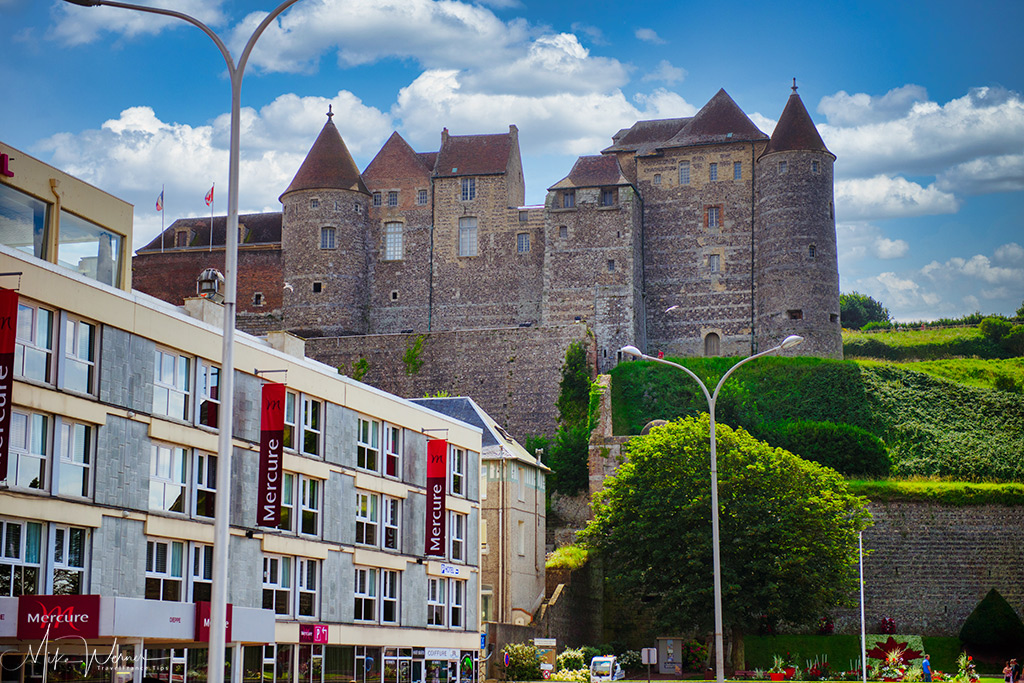 Today: The Dieppe Castle on the cliffs